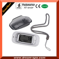 Portable 3D Pedometer with 7 day Memory Function, Calorie Counter for Walking Daily Jogging