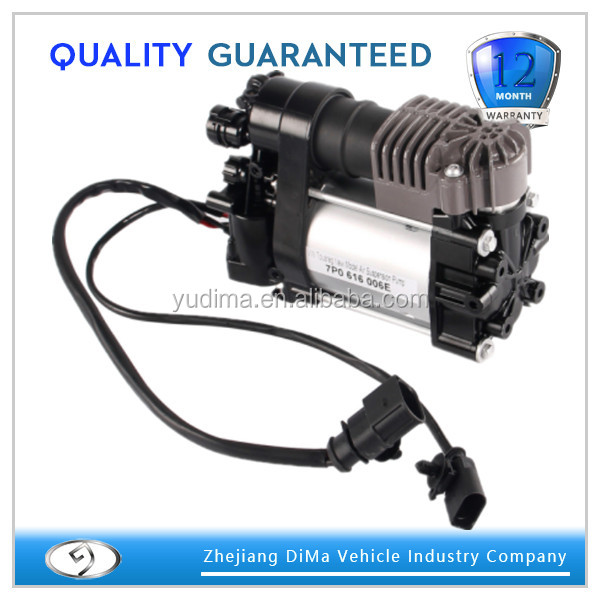 Air Ride Suspension Compressor for Q7 2010 Air Shock Absorber 7P0 698 007 A/B/D 7P0 616 006 E 7P0616006E