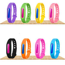 2018 New Type Wholesale Anti Mosquito Bug Repellent Bracelet WristBand Keeps Insects & Bugs Away