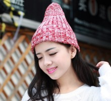 china factory price wholesale blank red black grey fleece winter warm anime wool caps Pompom Crochet knitted skull hats Beanies