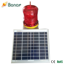 Outdoor Waterproof High Effeciency High Bightness LED Solar Aviation Obstruction Light