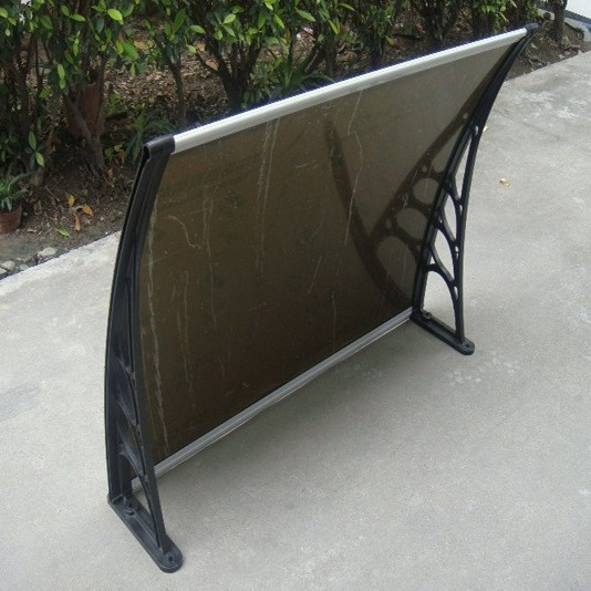 Durable diy polycarbonate awning plastic roof patio canopy