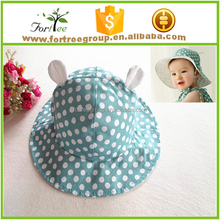 wholesale custom kids plain bucket hats