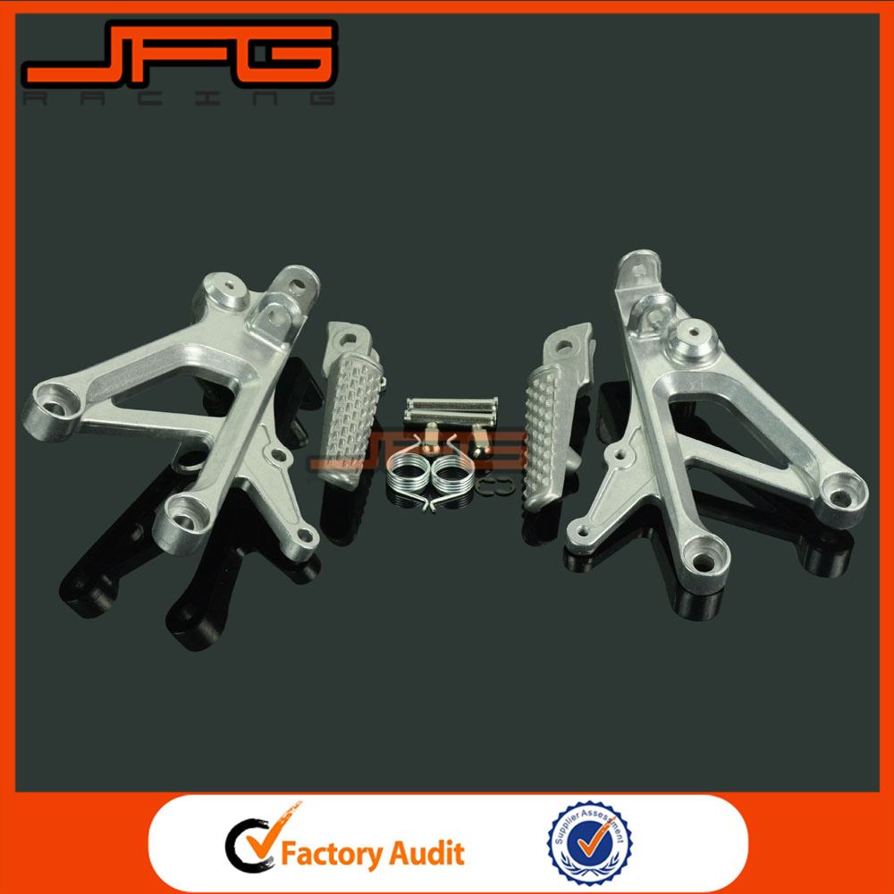 New Front Footrest Foot Pegs For Honda CBR600F4I 2001-2006 Parts Foot peg 02 03