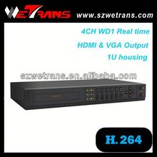 WETRANS TD-5304C with audio WD1 960H 4 channel usb dvr video audio capture adapter easy