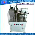words milling machines used in cap making machine