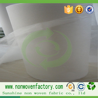 Top high quality hydrophilic nonwoven fabric, raw material for making tissue, fabric for babies