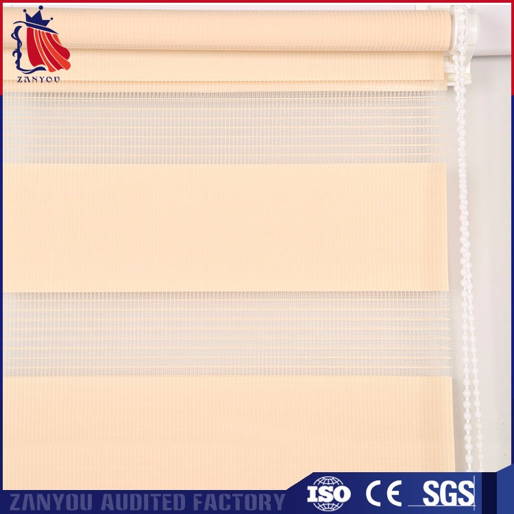 Factory direct custom wholesale new design zebra curtain