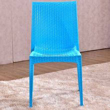 Cheap plastic furniture rattan pp wholesale garden modern plastic chairs