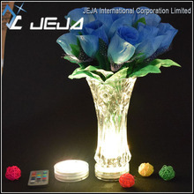 Glass Vase Decoration Battery Power Waterproof Remote Control LED Lamp