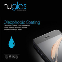 Nuglas 9H Anti Broken Screen Protector Tempered Glass for iPhone 5/5s Screen Protective Film