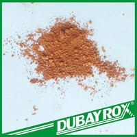 Plastic and Rubber Synthetic Polvo Iron Oxide Orange Primer Fe2O3