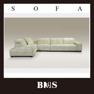 Italy design made in China leather sofa