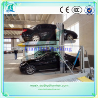 CE 2 post mechanical car parking system
