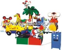 2012 hot sale wonderful children electric equipment carrousel