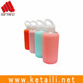 Wholesale BPA free sport glass water bottle with silicone sleeve