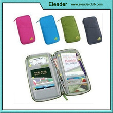 Passport Credit Id Card Holder Cash Organizer Pouch Travel Bag Wallet