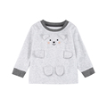 2017 newest child clothing boy T-shirt fall clothes long sleeves warm soft clothing manufacturer China