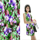 Wholesale Printed Thai Silk Fabric For Women