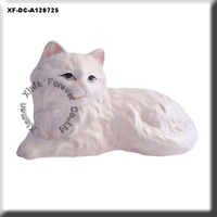 ceramic persian cat figurine