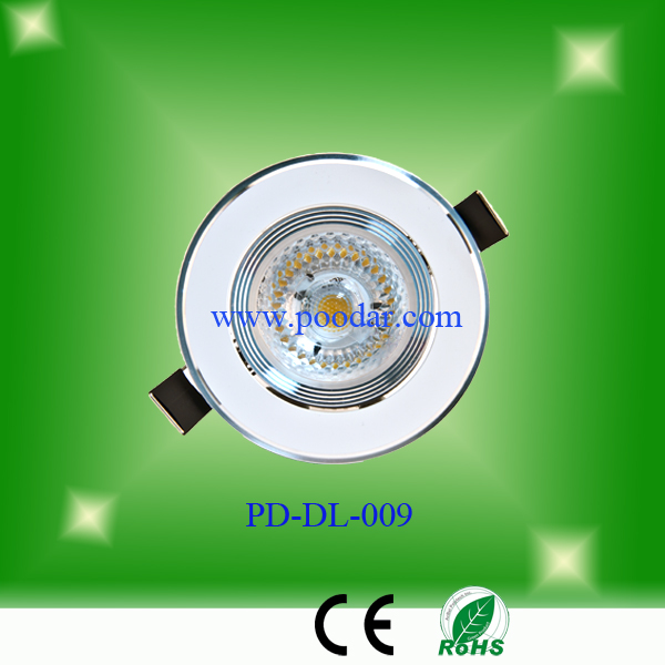 8w led ceiling grid light round led surface mounted led down light