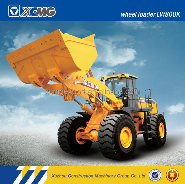 XCMG LW800K 8ton used wheel loader for garden use with overseas service