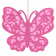 Butterfly decoration new design hallow butterfly ornament for easter and spring