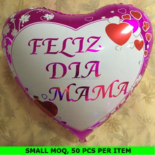 Custom Made Heart Shape Chinese Helium Balloon for Mother's Day
