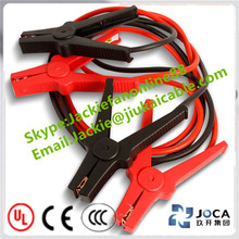Mini car battery emergency booster power starter charger battery jumper cable