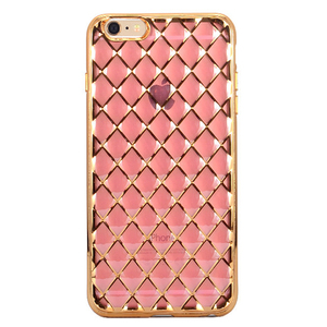4.7/5.5inch Clear Diamond Grid Transparent phone cover for iphone 6 plus best selling products 2016 in usa
