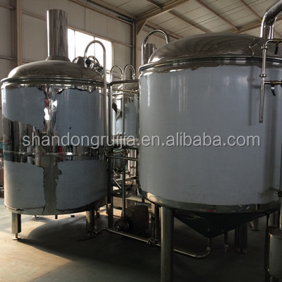 Pub hotel high quality 5bbl micro beer brewing equipment