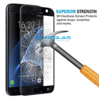 Shenzhen explosion-proof membrane anti radiation screen protector for samsung s7 3D protective glass