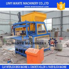 WT4-10 automatic clay brick making machine price