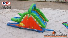 City event party use crocodile slide , inflatable dry slide