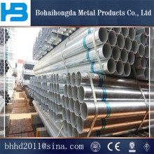 China Manufacturer pre galvanized steel pipe/Gi square steel pipe/greenhouse tube