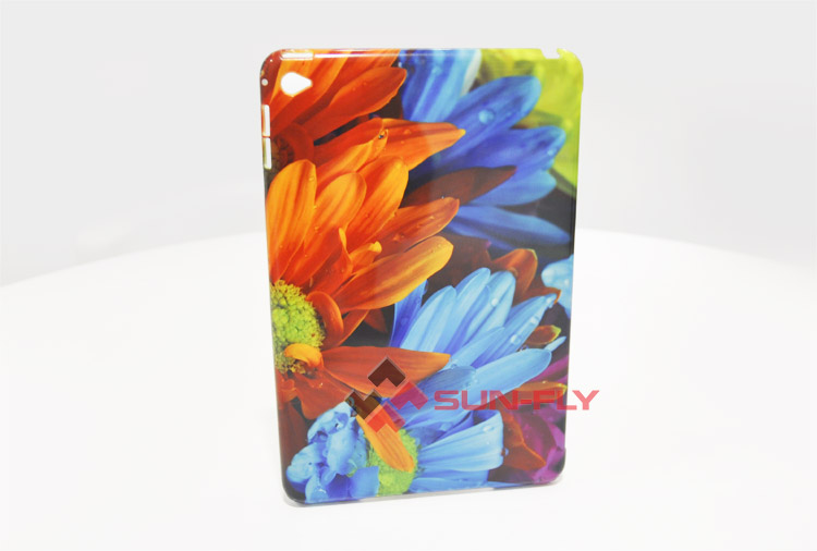 OEM new PolyClassic 3D sublimation Blank phone case cover for iPad Mini 4