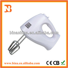 BN-H1002 High Quality White Mini Function of Electric Hand Mixer