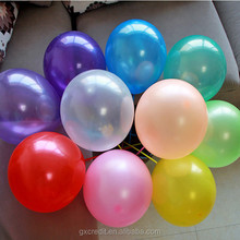 "11"" assortment colors in different weight 11"" inflatable latex balloons"