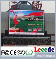 Hot and new production by black lamp for outdoor P6 LED display