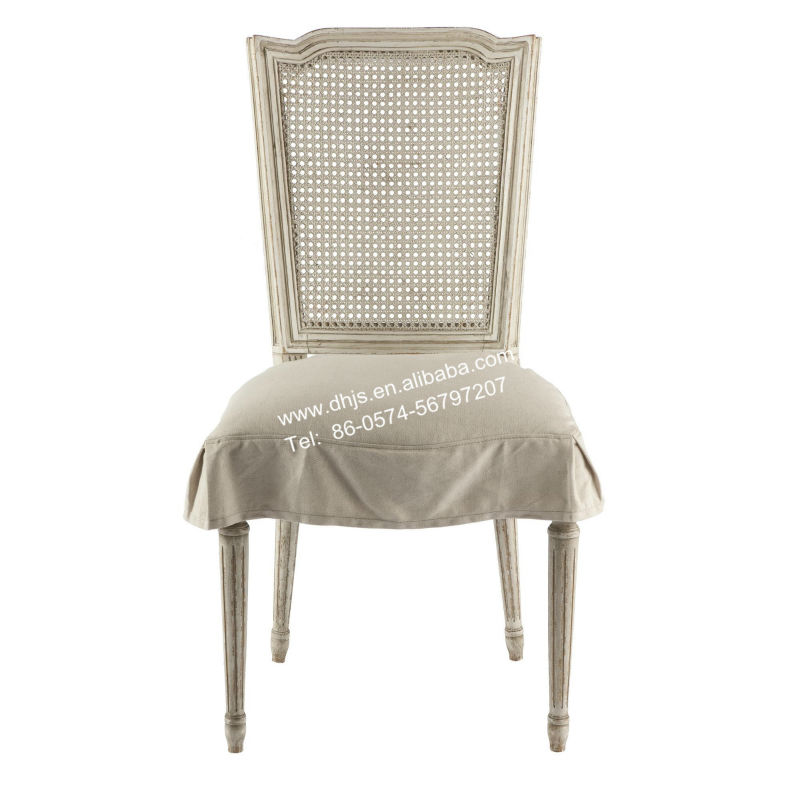 Milton Dining Chair With Slipcover