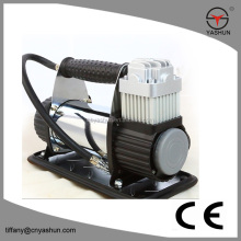Hot tyre inflator compressor,electric auto air compressors with battery clips