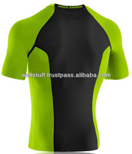 Top Brand Half Sleeve Skin fit Compression Shirt