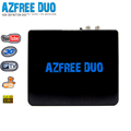 Azfree duo sat free to air set top box internet tv decoder