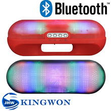 Kingwon XL Pill wireless LED flashed bluetooth speaker mp3 music songs free download