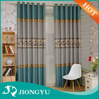 2016 Hot selling grommet many colors Luxury design window curtain