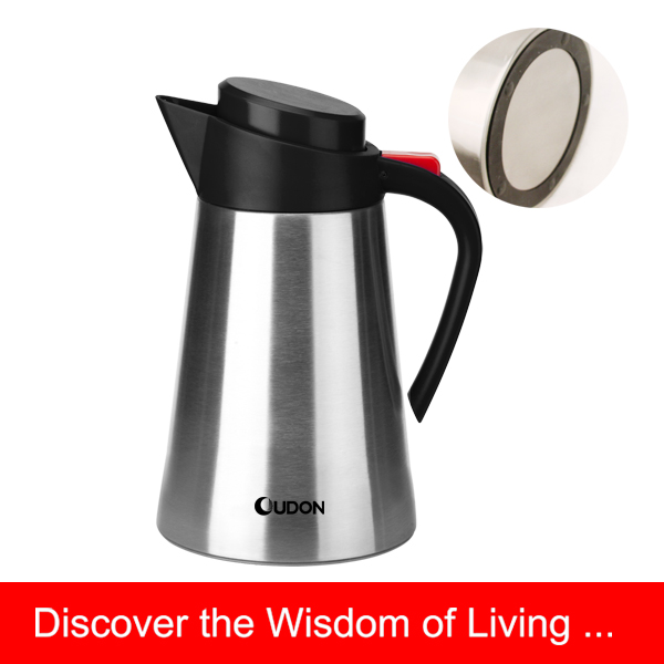 1.2L stainless steel thermos tea coffee pot