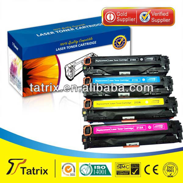 CF210A, CF211A, CF212A, CF213A Compatible Color Toner Cartridge for HP Printer for HP LaserJet Pro 200 color M251nw