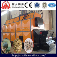 Fully Equipped Single Drum Horizontal Wood Chip Boiler for Sale