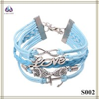 Fashion Bracelet Custom Leather Bracelet Latest Products In Market 2015