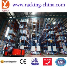Warehouse High Quality Metal Heavy Duty pallet stacking storages shelves Narrow Aisle Racks systems